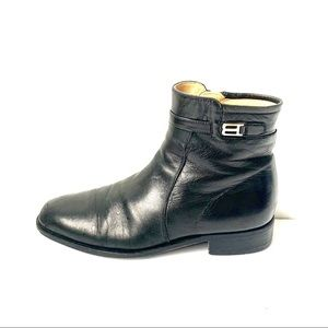 Bally Rudy Vintage Leather Dress Boots